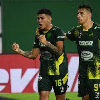 Gol de Defensa y Justicia: Tomás Escalante 2-1