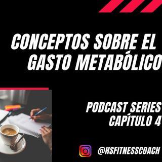 Conceptos sobre el Gasto Metabólico