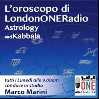 L'oroscopo settimanale di Marco Marini (dal 12 Settembre - 18 Settembre) Parliamo di Stelle