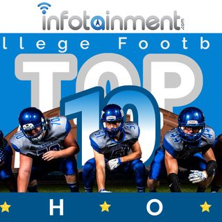 College Football Top 10 Show - Week 3 - 3 SEC Teams in the CFP - Sponsored by Infotainment.com