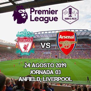 Liverpool vs Arsenal en VIVO