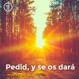 Oración 29 de abril (Pedid, y se os dará)
