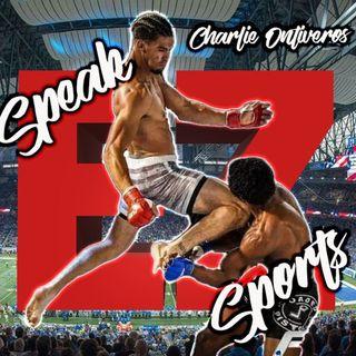 Charlie Ontiveros Episode #22 of The Speak EZ Podcast