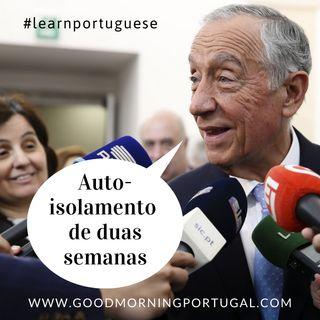 Portuguese President in Voluntary Isolation