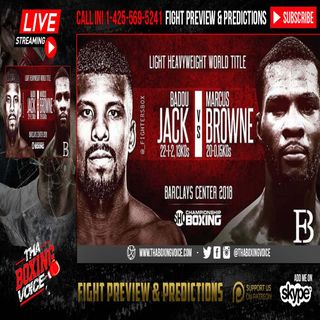🚨Badou Jack vs Marcus Browne 🔥International Media Conference Call☎️