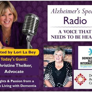 A Voice That Needs To Be Heard - Advocating While Living with Dementia