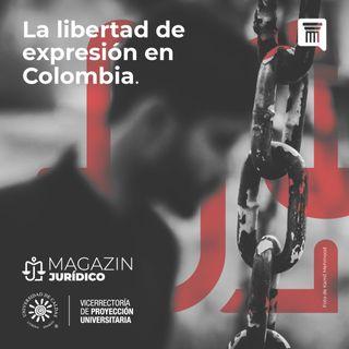 La libertad de expresión en Colombia
