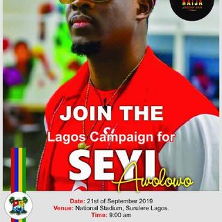 Afternoon Drive- LAGOS CAMPAIGN FOR SEYI AWOLOWO