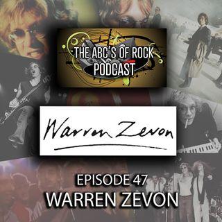 "Warren Zevon - ""I Feel Every Needle"" - Episode 47"