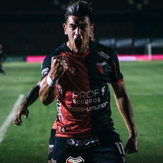 Gol de Colón: Alexis Castro 1-0