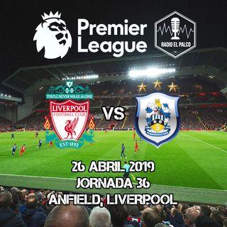Liverpool vs Huddersfield Town en VIVO