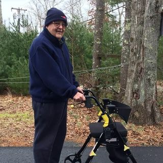 Mattapoisett senior citizen is walking the walk