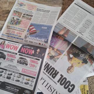 "Spicoli TV 3-13-20  ""newspaper doesn't streak glass or ass"""