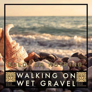 Walking On Wet Gravel | White Noise | ASMR & Relaxation