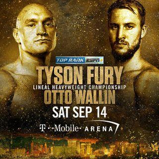 Fury vs Wallin Alternative Commentary