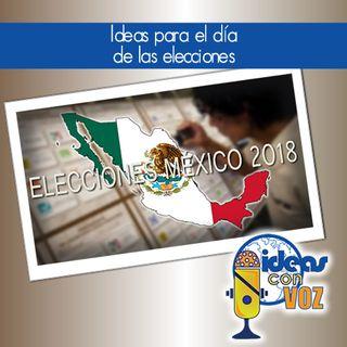 Ideas para el día de la elección