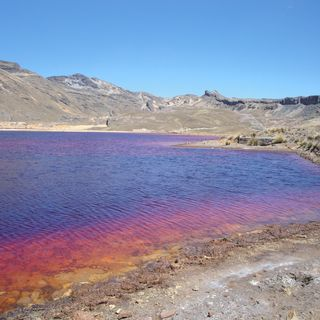 "The River of ""Burning Waters"" in Peru"