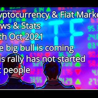 Crypto & Financial Market News & Stats 5th Oct 2021P
