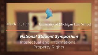 Panel IV: Intellectual and Informational Property Rights [Archive Collection]