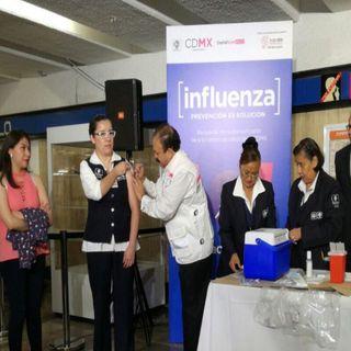 Campaña de vacunación contra la influenza estacional