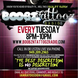 #BoobzNTattooz Reality Radio