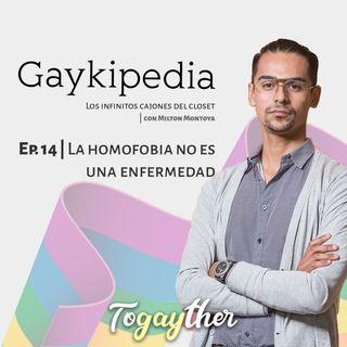 La homofobia no es una enfermedad