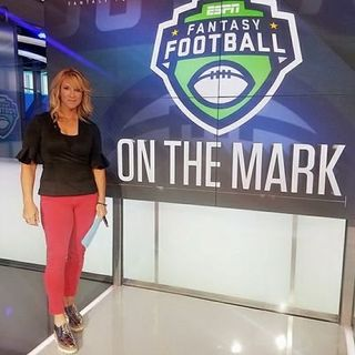 Anita Marks of 98.7 ESPN New York and ESPN TV