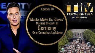 Masks Make Us Slaves  Massive Protests in Germany Over C0VlD Lockdown