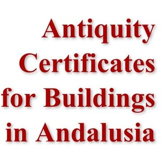 Antiquity Certificates in Andalusia