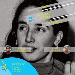 Franca Viola, il simbolo dell'Italia che avanza