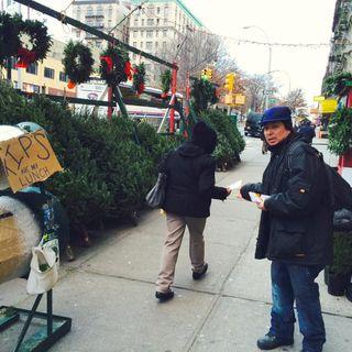 NYC Christmas Tree Salesmen. Colaboración con 360 Grados