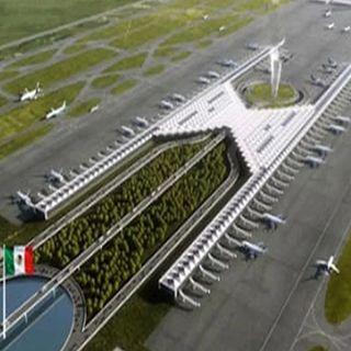 Para Aeropuerto Santa Lucía, presupuesto de 296.7 por ciento más que el año pasado