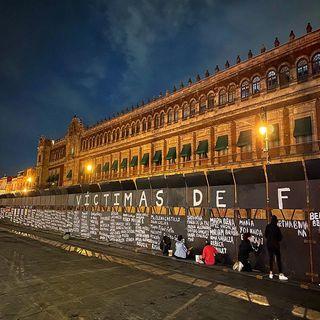 Defiende López Obrador valla en Palacio Nacional; dice que es mejor esa medida que granaderos