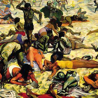 La spiaggia - Guttuso