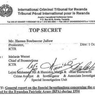 Top Secret: Rwanda War Crimes Cover-Up +
