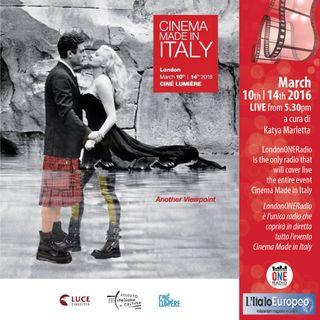 Diretta da Cinema Made in  Italy con il regista Giuseppe Gaudino e l'attrice Valeria Golino a LondonONEradio