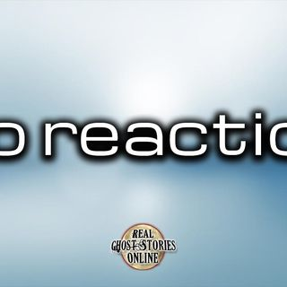 No Reaction | Ghost Stories, Paranormal, Supernatural