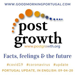 Covid19 Coronavirus Update 09-04-20 (For Portugal, in English)