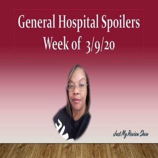 General Hospital Spoilers - Week of 3/9/20
