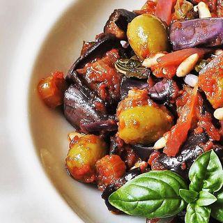 """La """"caponata siciliana"""", piatto DeCo - Mariano Carbonetti, chef"""