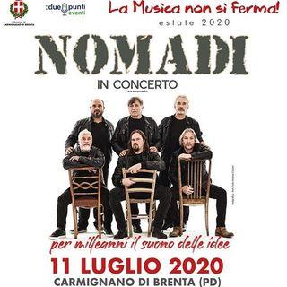 I NOMADI, durante l'estate, porteranno la loro musica dal vivo sui palchi italiani nei teatri all'aperto. Con loro, andiamo poi al 1995....