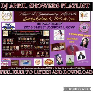 DRT PRESENTS DJ APRIL SHOWERS PLAYLIST