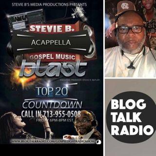 Stevie B's Acappella Gospel Music Blast - (Episode 97)