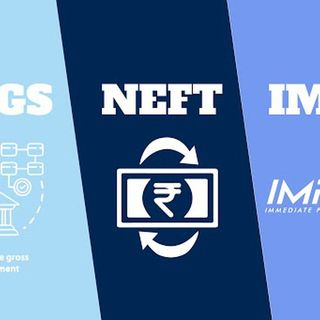 Difference between RTGS, NEFT and IMPS
