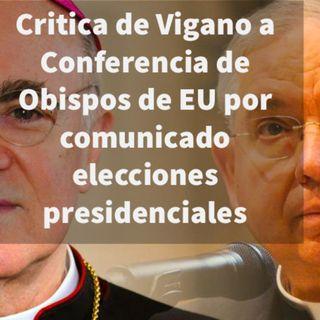 Episodio 387: 👏 Critica de Vigano a Conferencia de Obispos de EU por reciente comunicado 😱 Nuevo Orden Mundial 🌎