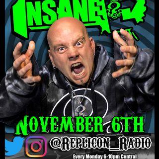 Replicon Radio 11/6/17- Insane E