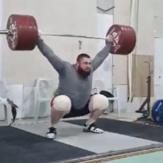 Solo show 4/29/21 Lasha 225kg / 270kg