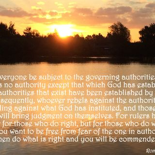 Authority From Above (Romans 13:1-7)