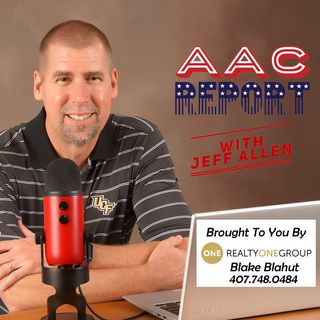 AAC Report with Jeff Allen: #017 Tim Brando from Fox Sports, ECU & SMU team previews.