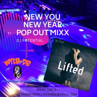 New You New Year Pop Out MIXX featured artist Jay Frost